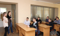 Встреча руководителя международного проекта BERAS International со студентами