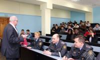 Встреча представителей ОВД Ленинского района г. Гродно с иностранными студентами УО «ГГАУ»