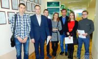 Встреча руководителя практики в Швеции со студентами